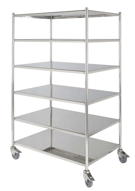 Stainless Steel Orthopaedic Instrument Trolley available from Rycol Medical in Ireland